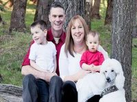 Stay Happy Waglands family photo