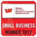 Hutt Valley Business Awards 2012 - Small Business Winner