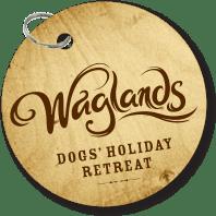 Waglands dog tag logo